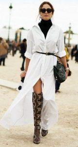 φόρεμα πουκάμισο χειμερινά outfits ediva.gr