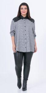 γυναικεία μακρυμάνικα πουκάμισα mat