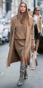 γυναικείο ντύσιμο γήινα χρώματα χειμώνας 2020