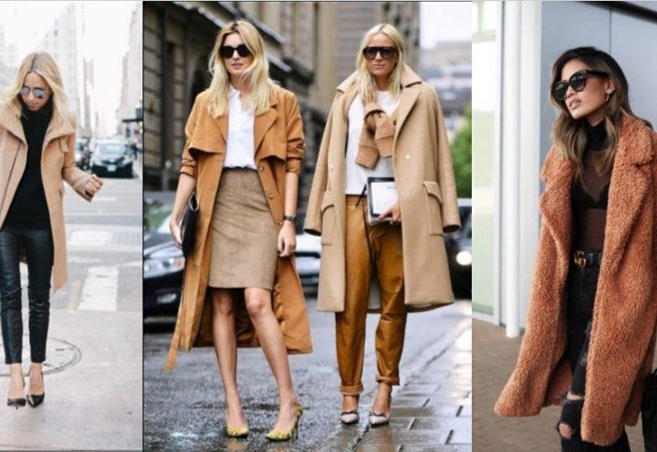 Ιδέες για να φορέσεις το καμηλό χρώμα το Χειμώνα!