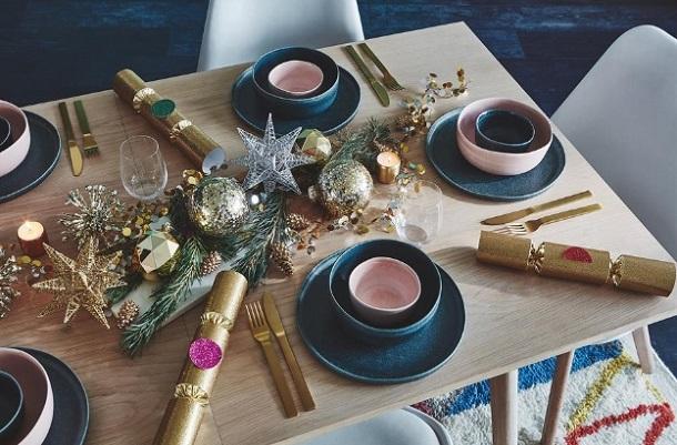 ιδέες τραπέζι Χριστούγεννα Πρωτοχρονιά