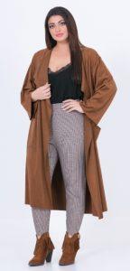 καφέ ζακέτα γυναικείο outfit