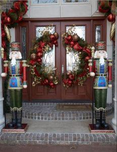 στεφάνι πόρτας χριστουγεννιάτικα
