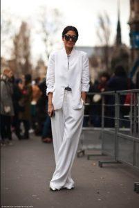 χειμωνιάτικο κοστούμι άσπρο