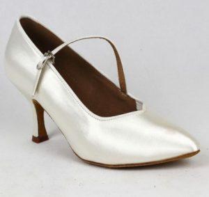 λευκό ballroom παπούτσι