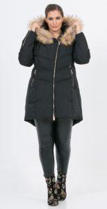 μακρύ γυναικείο μπουφάν με γούνα