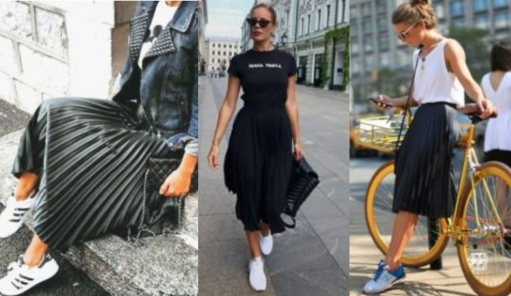 6 Τρόποι να συνδυάσεις την μαύρη midi φούστα σου!
