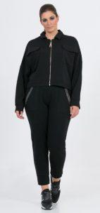 μαύρο φούτερ γυναικείο παντελόνι