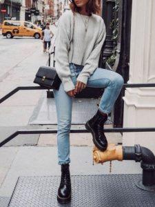 μαύρο αρβυλάκι τζιν παντελόνι