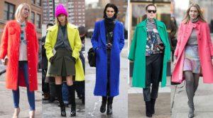 πολύχρωμα παλτό ρούχα