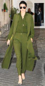 μονόχρωμο πράσινο look