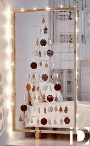 μοντέρνα χριστουγεννιάτικη διακόσμηση