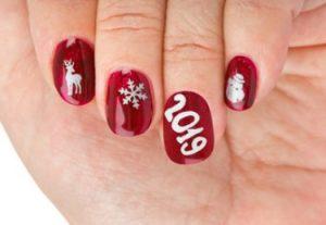 2019 χριστουγεννιάτικα νύχια