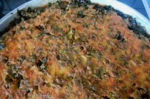συνταγή για νηστίσιμη χορτόπιτα χωρίς φύλλο