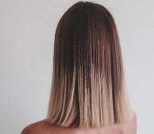 ombre μαλλιά καρέ κοπέλα