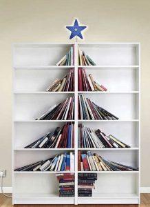 στολισμός βιβλιοθήκης Χριστούγεννα