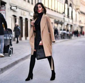 ταμπά καφέ παλτό