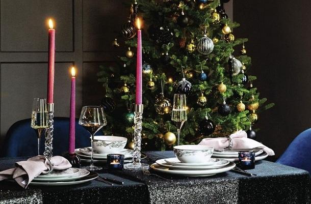 ιδέες διακόσμησης τραπέζι ρεβεγιόν ediva.gr