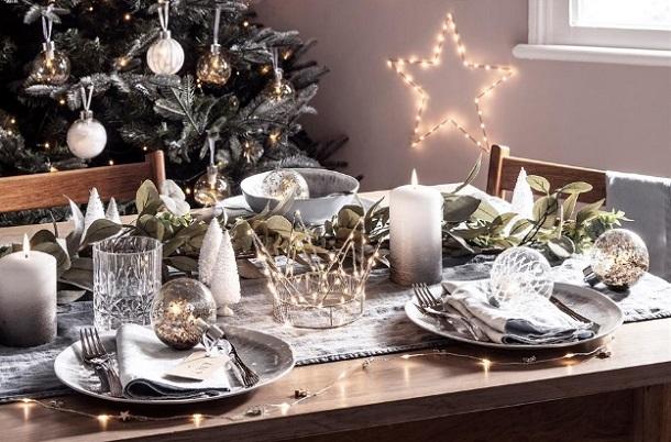 τραπέζι Χριστουγέννων 2019