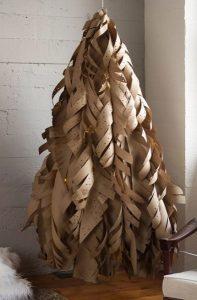 χάρτινο δέντρο Χριστουγέννων