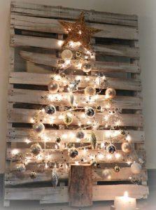 χριστουγεννιάτικα δέντρα παλέτες