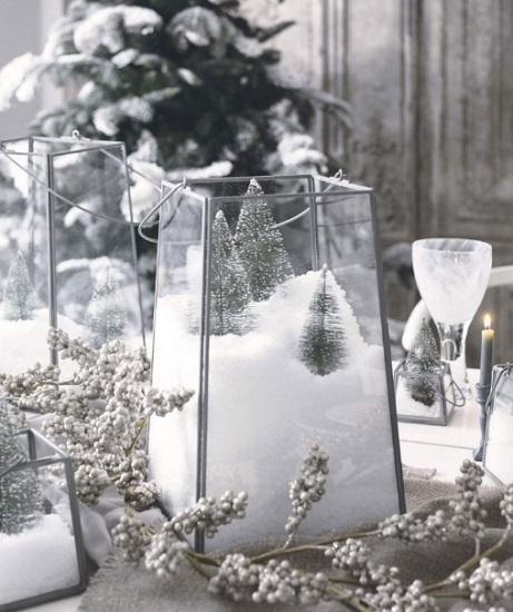 χριστουγεννιάτικα διακοσμητικά τραπέζι