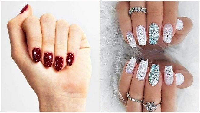 20 Υπέροχα χριστουγεννιάτικα σχέδια για τα νύχια σου!