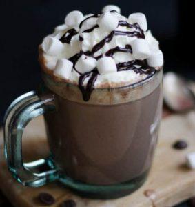 ζεστή σοκολάτα με baileys