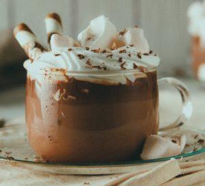 ζεστή σοκολάτα με nutella