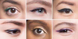 eyeliner για διαφορετικό σχήμα ματιών
