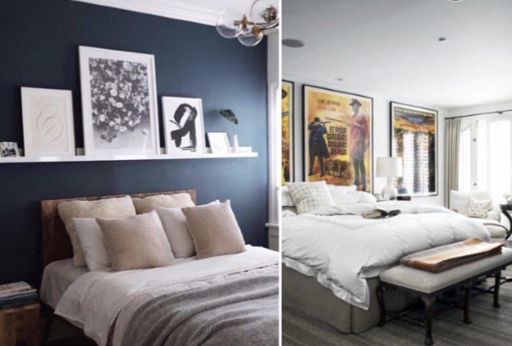 6 Ιδέες για να διακοσμήσεις τους τοίχους του υπνοδωματίου!