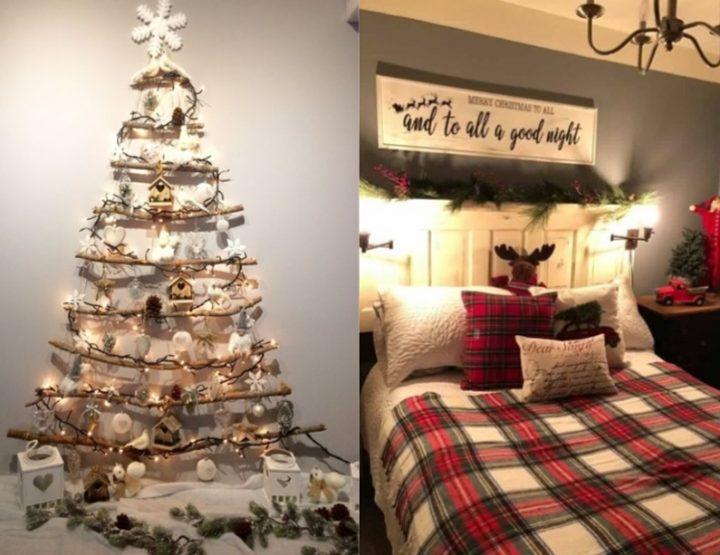 6 Ιδέες για χριστουγεννιάτικη διακόσμηση στο υπνοδωμάτιο σου!