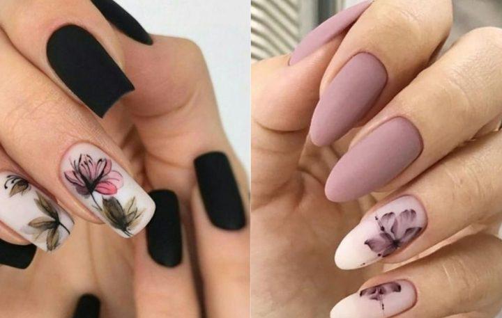20 Χειμωνιάτικα νύχια με φλοράλ σχέδια!