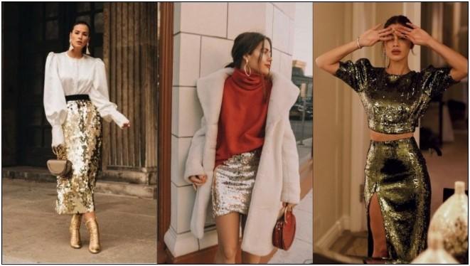 4 Τρόποι να φορέσεις φούστα με παγιέτα τα Χριστούγεννα!