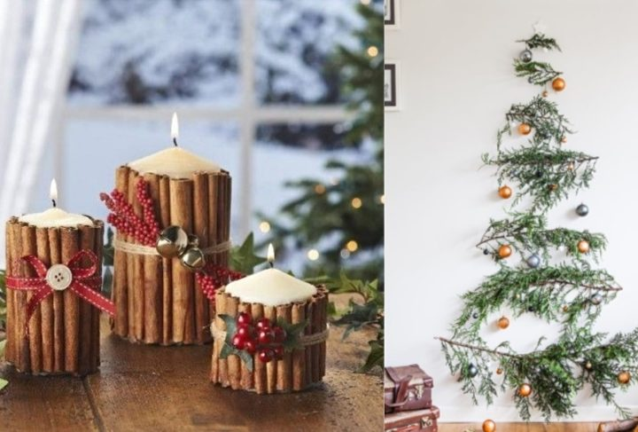6 Ιδέες για χριστουγεννιάτικη διακόσμηση με λίγα χρήματα!