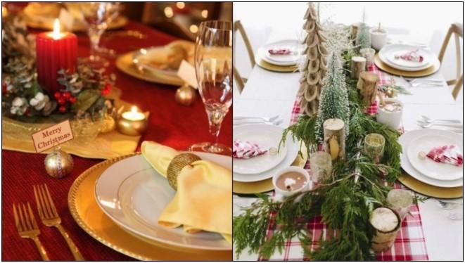 7 Κομψοί τρόποι να στολίσεις το γιορτινό τραπέζι!