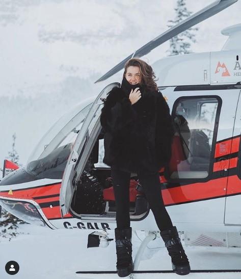 γούνα στιλ κατάλληλα για χιονοδρομικό