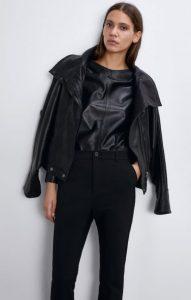 γυναικείο μαύρο παντελόνι tailored