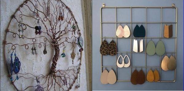 6 Πρωτότυποι τρόποι για να κρεμάσεις τα σκουλαρίκια σου!