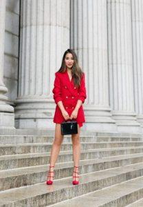 κόκκινο φόρεμα κοστούμι