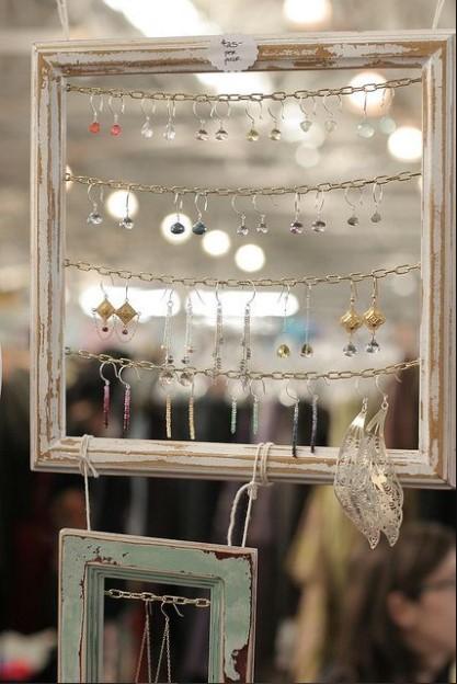 πρωτότυπες ιδέες με αλυσίδα για σκουλαρίκια