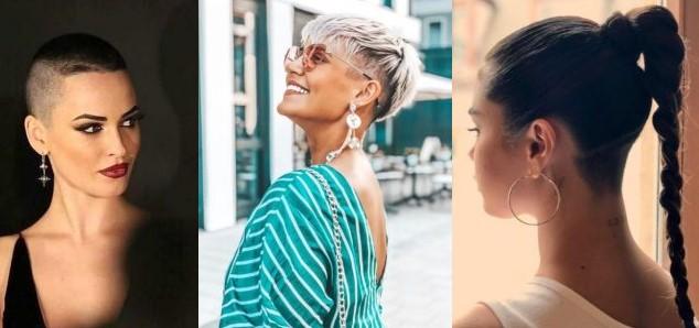 12 Μοναδικά γυναικεία κουρέματα με ξύρισμα!