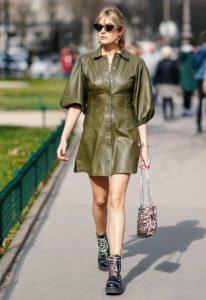σικάτοι συνδυασμοί με πράσινο φόρεμα