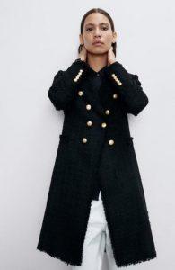 μαύρο στρατιωτικό παλτό γυναικείο