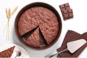 σοκολατόπιτα στο ταψί