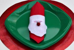 χριστουγεννιάτικες χαρτοπετσέτες άγιος Βασίλης