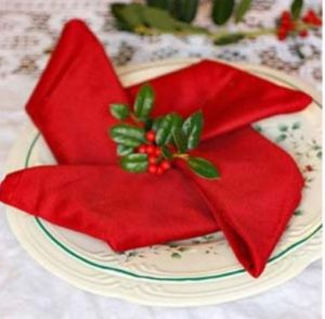 χριστουγεννιάτικες χαρτοπετσέτες αστέρι