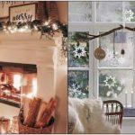 χριστουγεννιάτικη διακόσμηση μικρό σπίτι