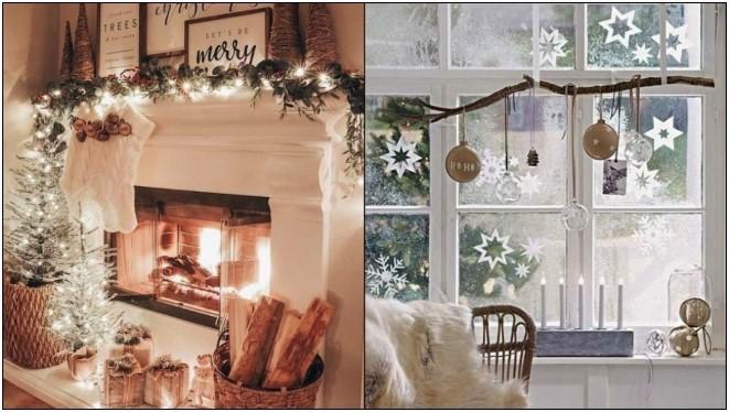 7 Ιδέες για χριστουγεννιάτικη διακόσμηση σε μικρό σπίτι!