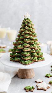 χριστουγεννιάτικο δέντρο μπισκότα